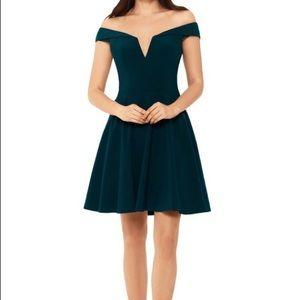 XScape Emerald Party Dress
